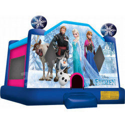 Frozen Moonwalk Bouncy Castle