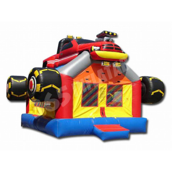 Monster Truck Bouncy Castle