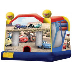 Cars Bouncy Castle Combo C4