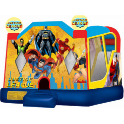 Justice League Backyard Bouncy Castle