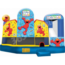 Inflatable Elmo's World 5 In 1 Combo