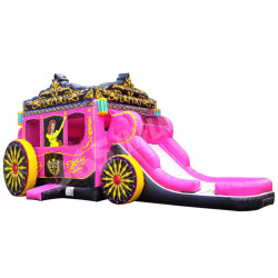 Princess Carriage Bouncy Castle