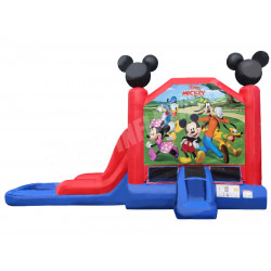 Mickey Mouse Bouncy Castle Slide