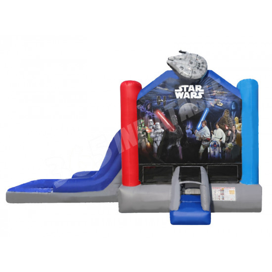 Starwars Bouncy Castle Combo