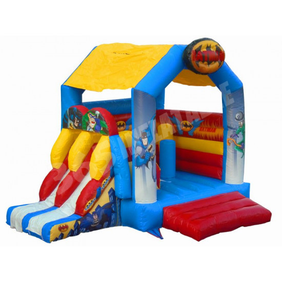 Batman Bouncy Castle Slide