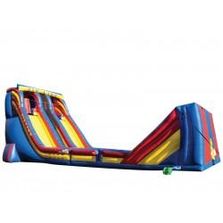 Zip Line Inflatable Slide