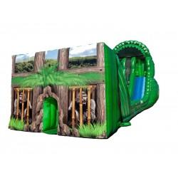 Amazon Zip Line Inflatable Slide