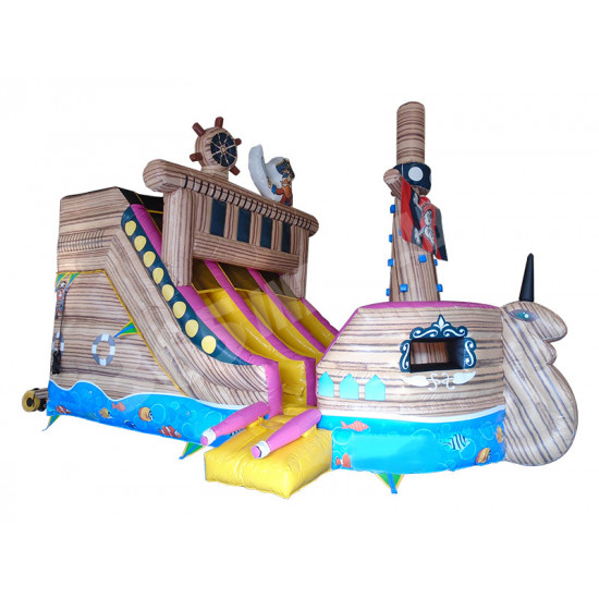 Inflatable Pirate Ship Slide