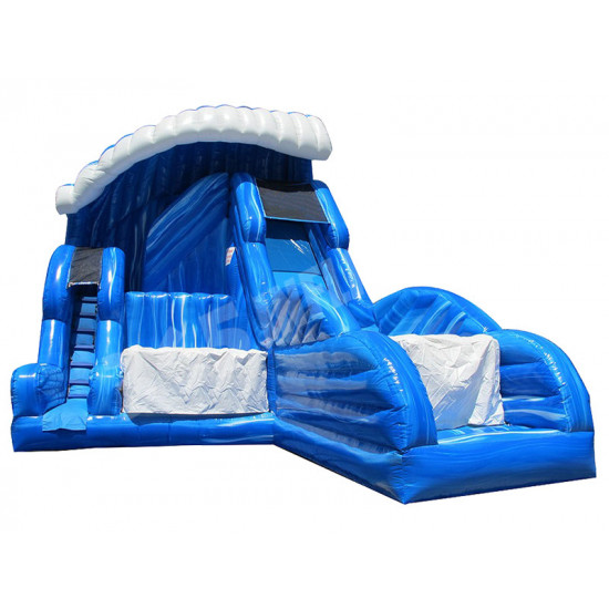 Shock Wave Inflatable Slide