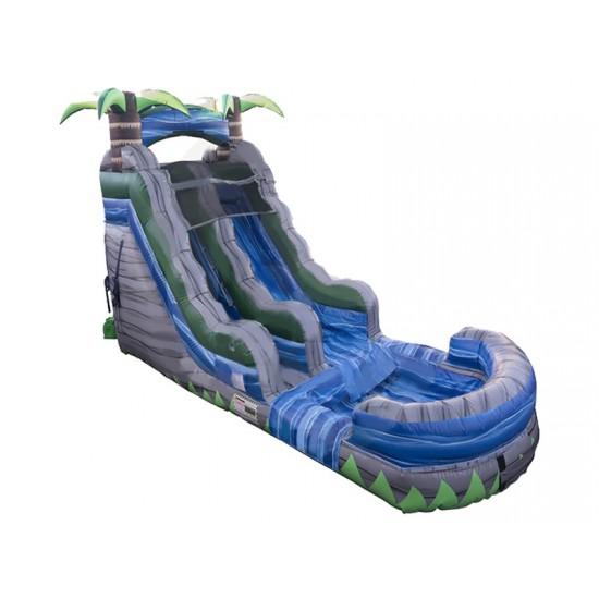 Water Slide Bouncy Castle