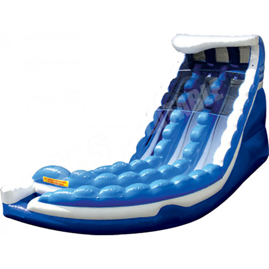 Giant Curve Action Water Slide