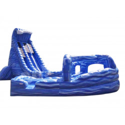 Big Blue Whale Water Slide