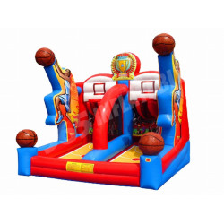 Shooting Stars Inflatable Basketball