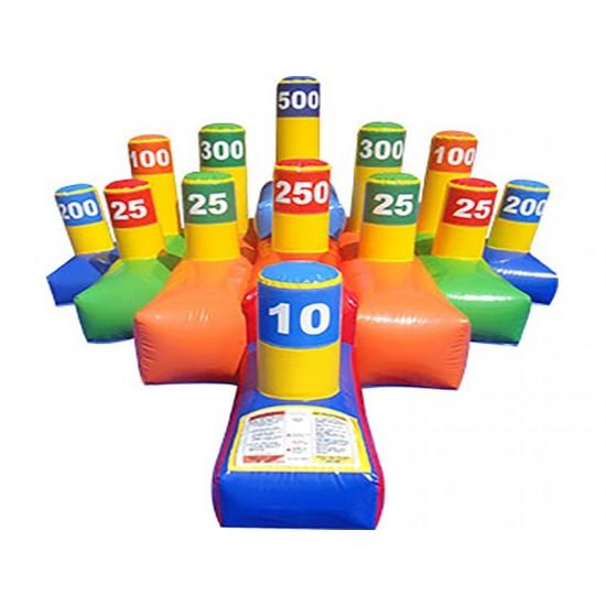 Hula Hoop Toss Inflatable Game