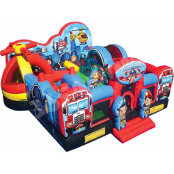 Inflatable Rescue Squad Junior Bouncy Castle