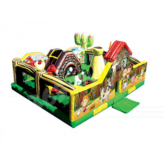 My Little Farm Toddler Bouncy Castle