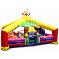 Circus Toddler Bouncy Castle
