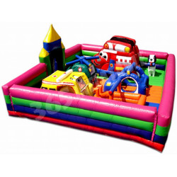 Rescue Heroes Toddler Bouncy Castle