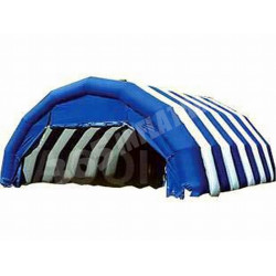 Inflatable Blue Tunnel Tent