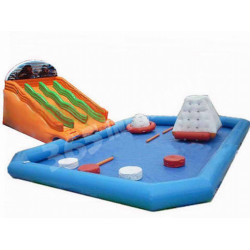 Inflatable Water Park With Swimming Pool