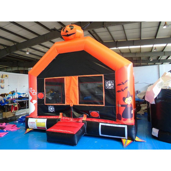 Inflatable Pumpkin Halloween Moonwalk