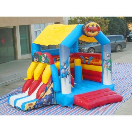 Batman Bouncy Castle Slide
