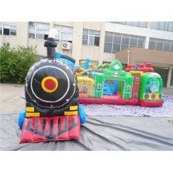 Fun Train Station Junior Bouncy Castle